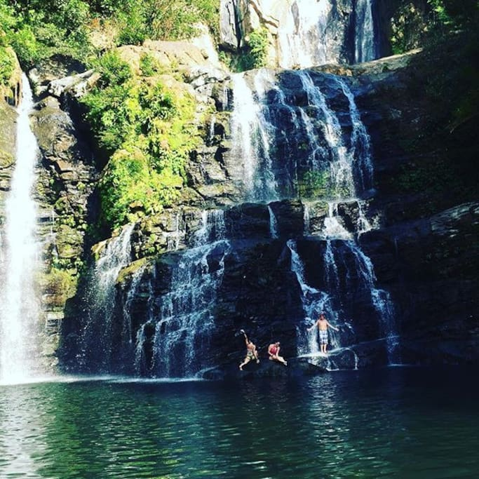Get in touch with me to take you to one of the nicest waterfalls of the country!