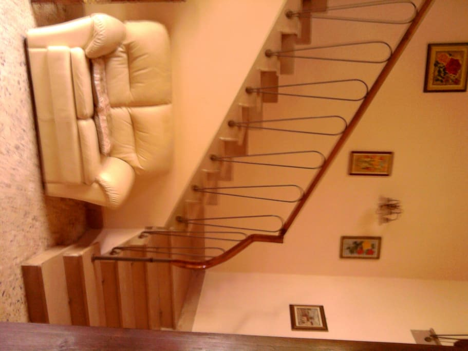 Si sale la scalinata