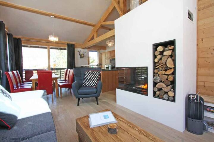 Chalet Union - catered - Chamonix - Chalé