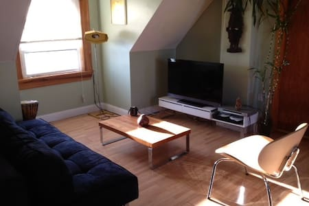 Spacious Sun Filled Studio Apt. - Winthrop - Apartment