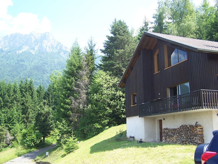 Large chalet with amazing view