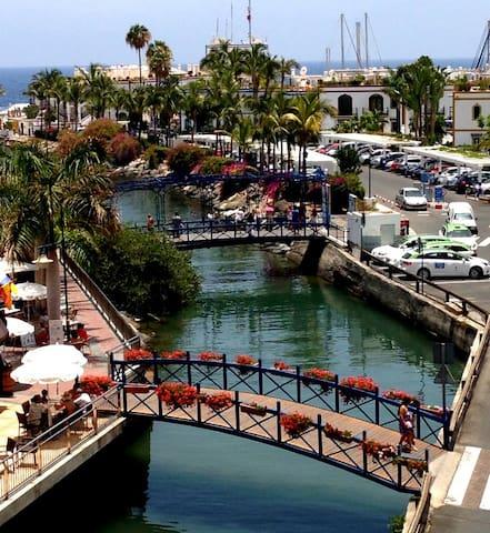 Puerto de Mogán-Bonito apartamento - มอแกน - อพาร์ทเมนท์