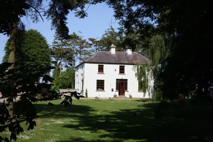 Birch Room (double) on organic rural smallholding