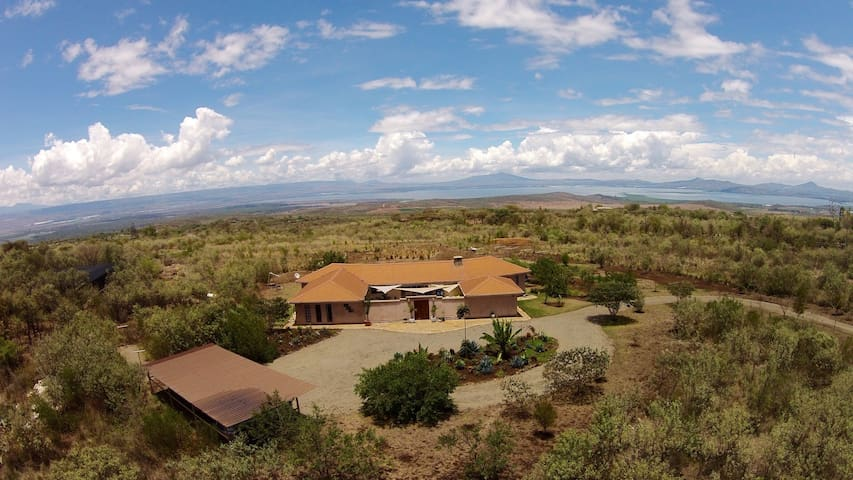 Unique bush home in Naivasha - Naivasha - Talo