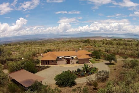 Unique bush home in Naivasha