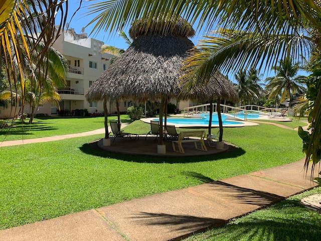Departamento en planta baja en Acapulco Diamante
