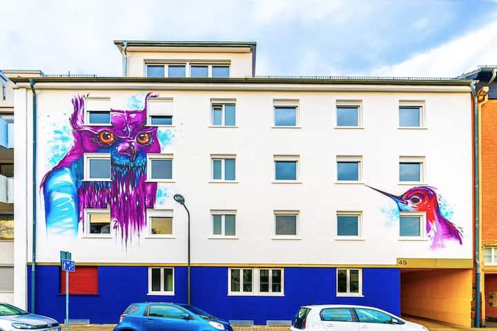 Vollmöblierte 2-Zimmerwohnung in Frankfurt Hausen
