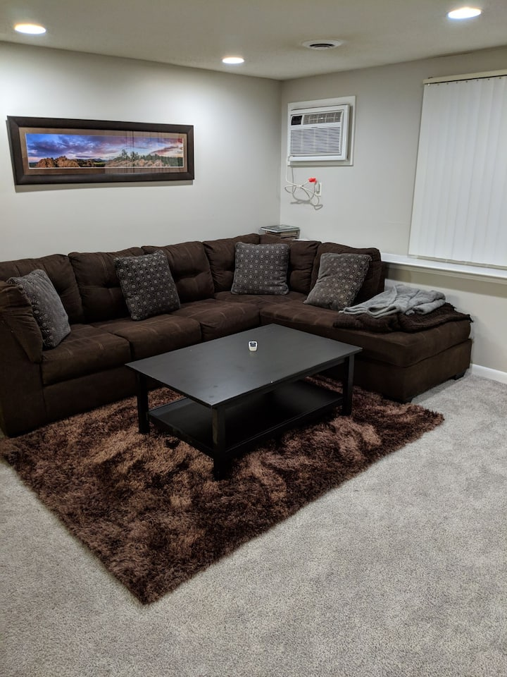 The New Bedford Living Room