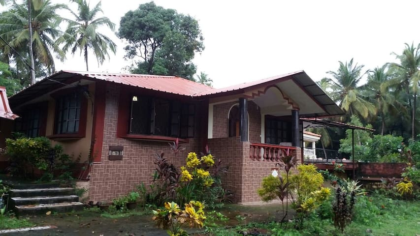 Lovely home-stay room @ Monkey Valley, Chapora - Anjuna - House