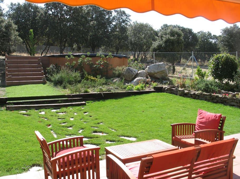 Escapada o vacaciones en la sierra chalet indepen chalets en alquiler en los ngeles de san - Chalet jardin d angele ...