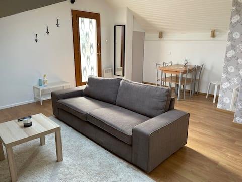 Appartement  calme en bordure de foret
