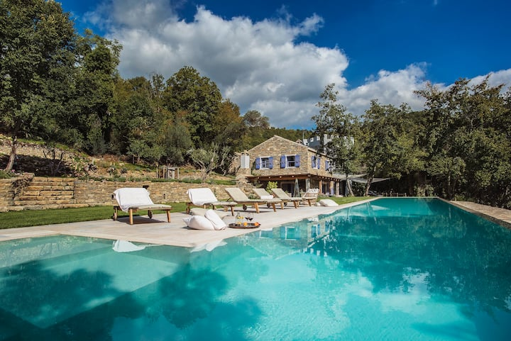 Airbnb Luxury Villa, Istria Croazia, 25m pool