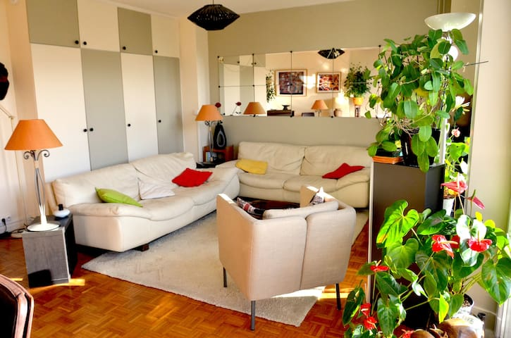 Nice bright flat, 6 p, with balcony - Paris - Apartemen