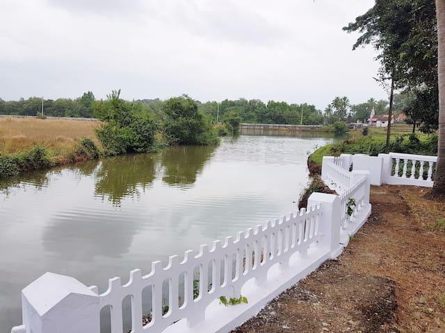 2BHK Lake View Facing Villa