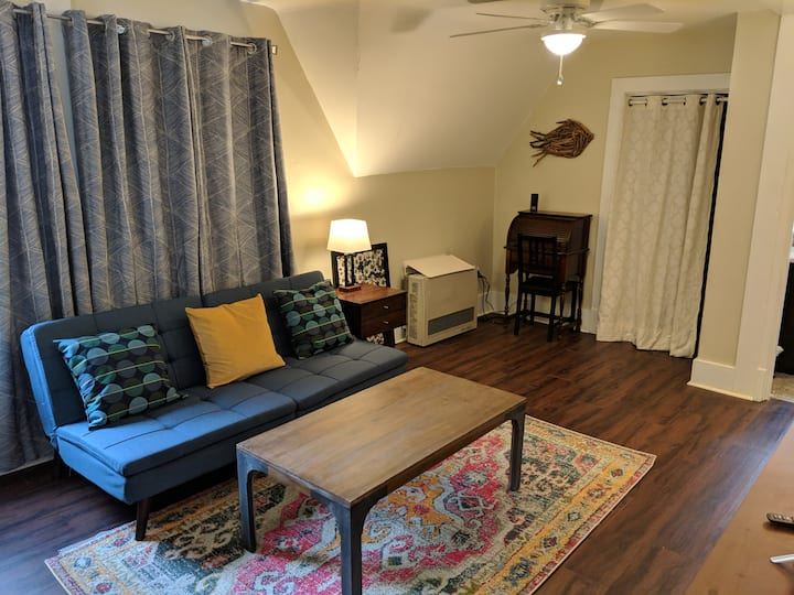 Little Fish carriage house apartment in Hillcrest
