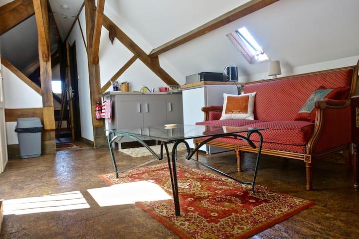 charmant loft - endroit parfait pour une pause