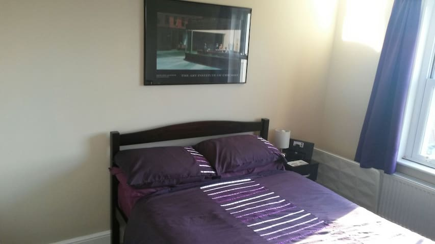 Fab dbl rm, own lounge, breakfast, nr beach, shops - Hove - Bed & Breakfast