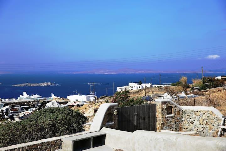 Unique Luxury Sea View Mykonos Villa