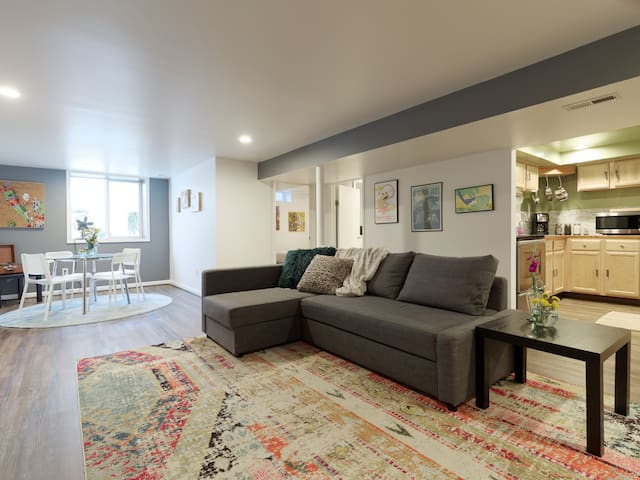 Chic Boho Flat 10 min from Downtown Annapolis