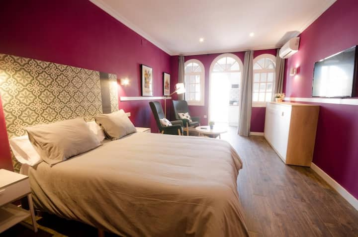 Suites Roma - Apartamento con terraza(1-3 personas)