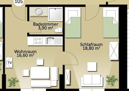Wohnung Nr. 105 - Erdweg