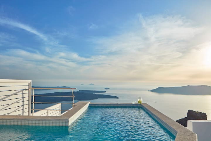 La Maltese Private Villa - Caldera View - Imerovigli - Villa