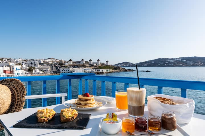 Mykonos Little Venice Suite with Sea View