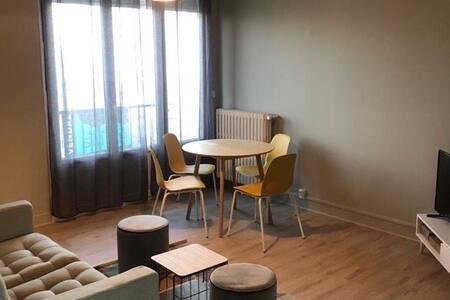 Appartement 56 m2, 3 chambres pour 6 personnes