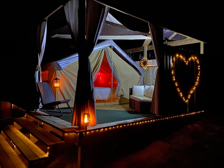 The Love Shack Tent