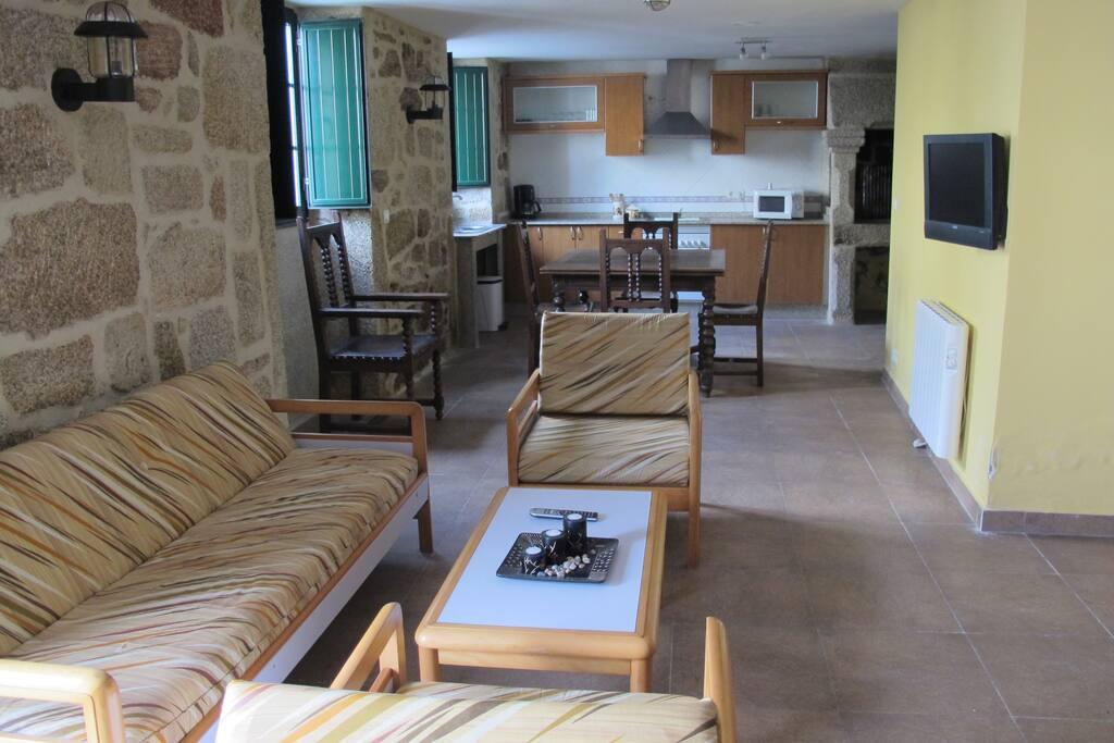 Casa de piedra rehabilitada casas en alquiler en carnota galicia espa a - Alquiler de apartamentos en galicia ...