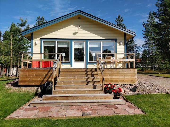 Eget hus på Lingstrandsgården i Nusnäs vid Siljan