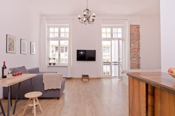 A beautiful studio in the Old Town - Warsawa - Apartemen