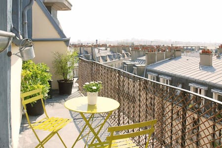 Splendide terrasse vue imprenable