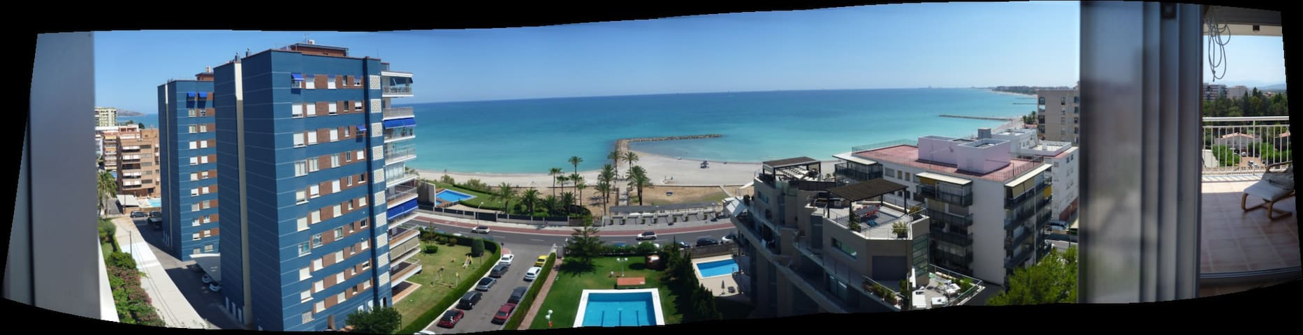 Apartamento Astoria, primera linea playa,wifi.