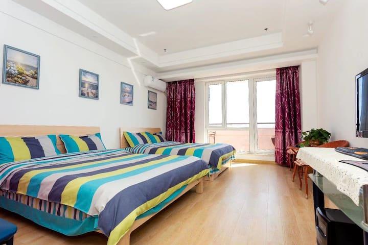 鲅鱼圈山海广场海岸线家庭公寓