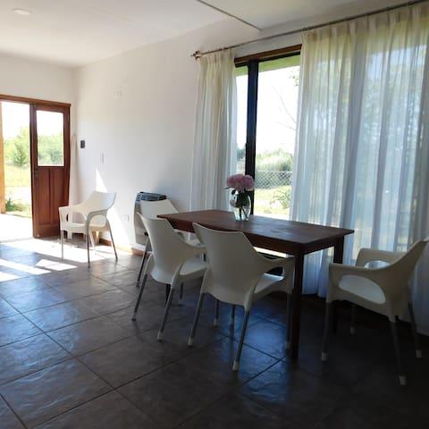 Espacio Solemne - Villa General Belgrano - Houten huisje