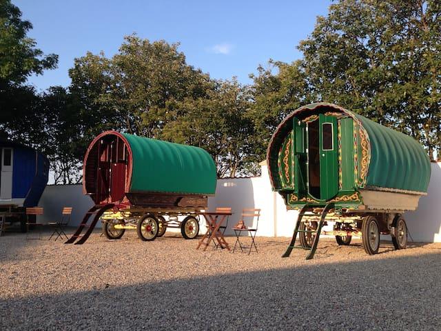Gypsy Wagon på Hotell Vagabond - Skurup