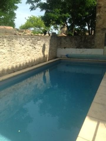 La Malle Bleue - w/ pool access - Vallabrix