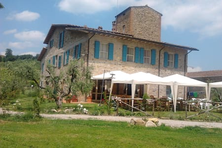 Camera in Agriturismo nel Chianti - Gambassi Terme