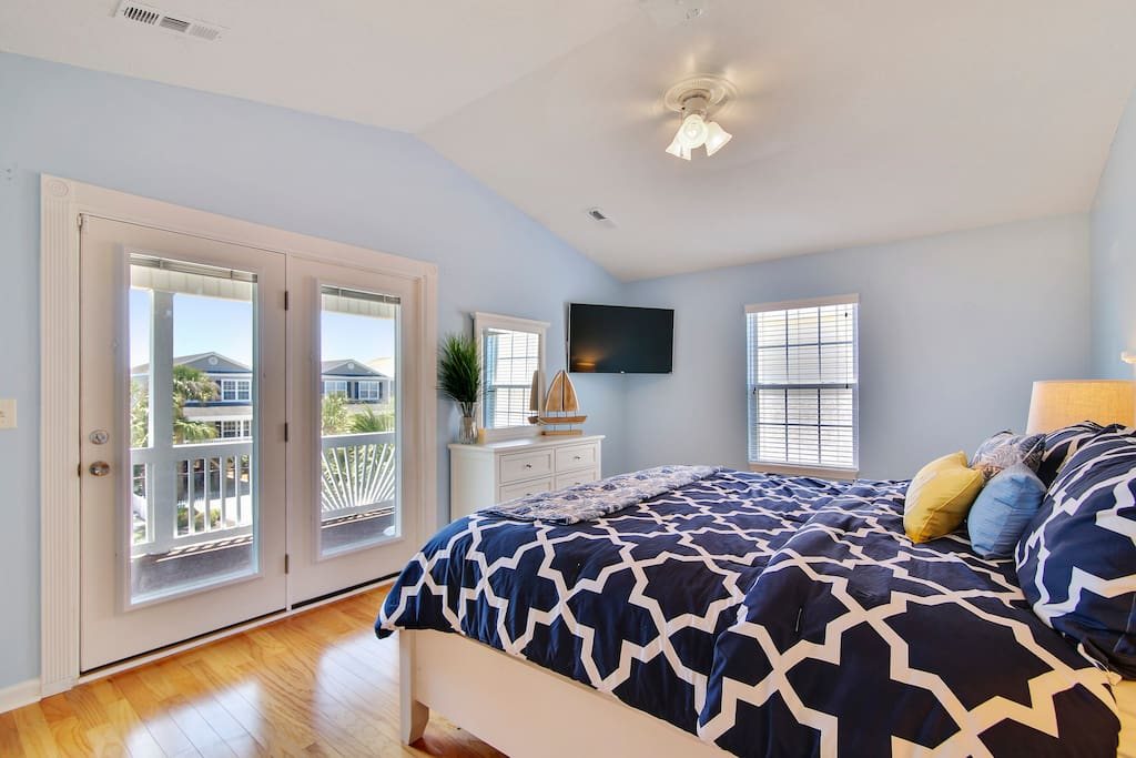 Private balcony access from the Master Bedroom