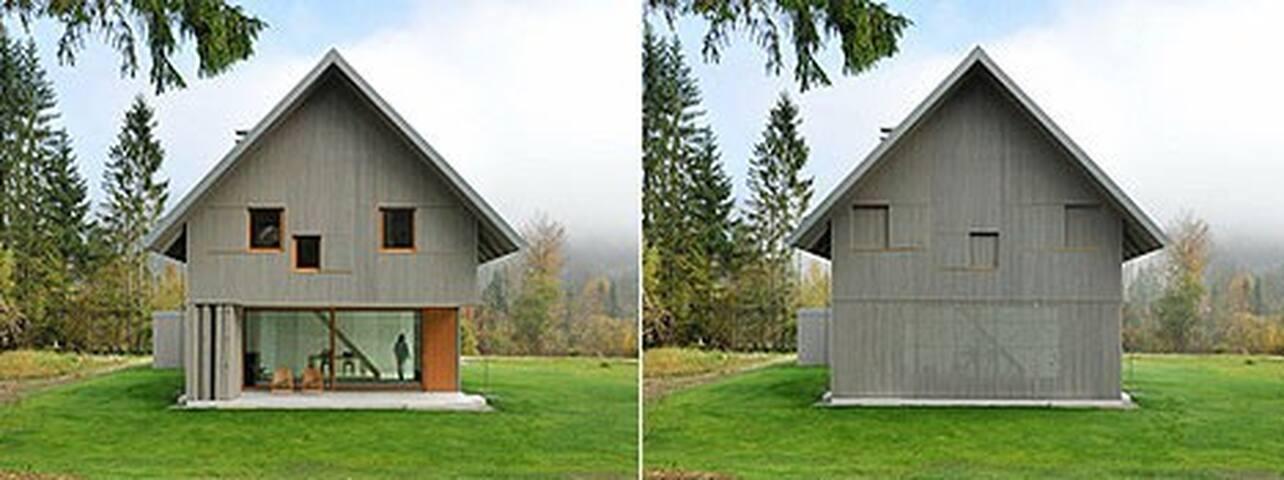 Minimalist Home Design in Alpine Sl - Ribčev Laz - House