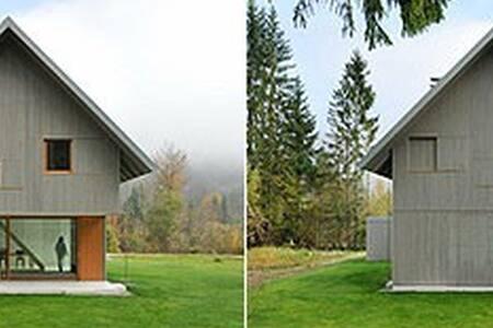 Minimalist Home Design in Alpine Sl - Ribčev Laz - Haus