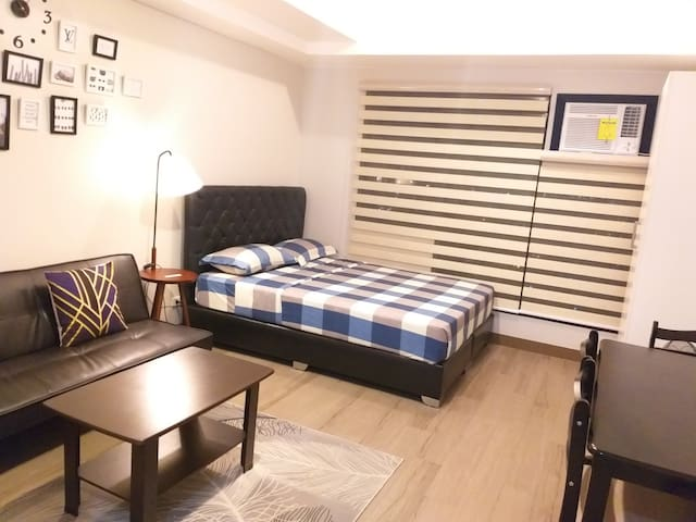 #Affordable condo unit with pool and gym in Edsa