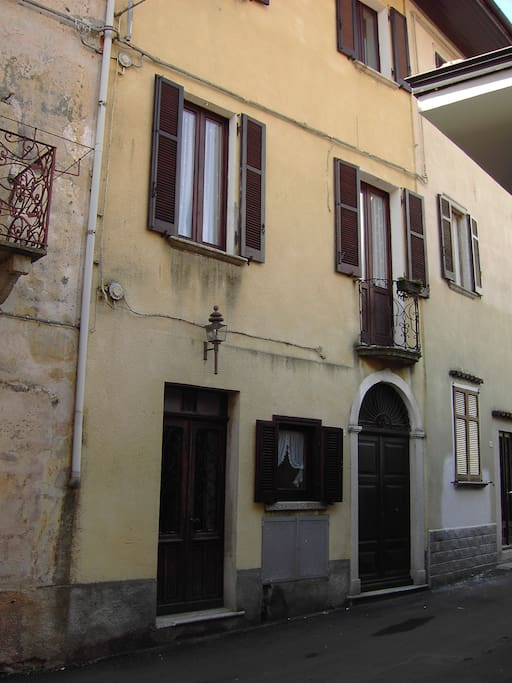 Haus in der Via Roma