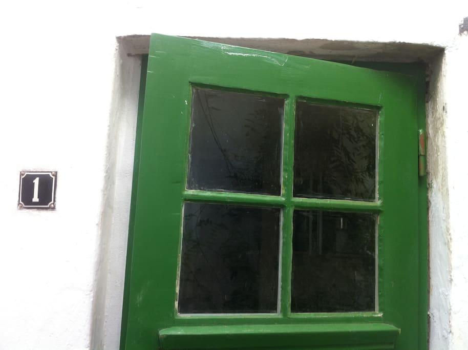 Komplett sanierter Fachwerkbau; es besteht Denkmalschutz