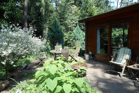 Cool Cozy private lodge in forest - Doornspijk - Дом