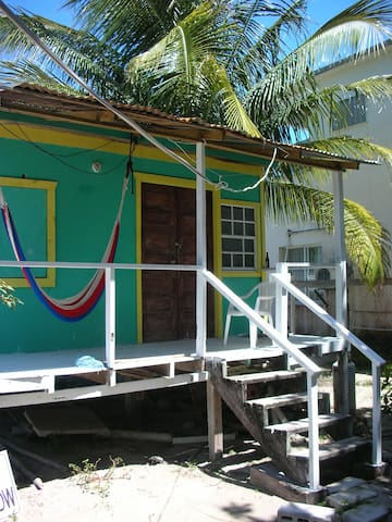 Cozy Cabana for 2 w/ comfy veranda - Caye Caulker - Hus