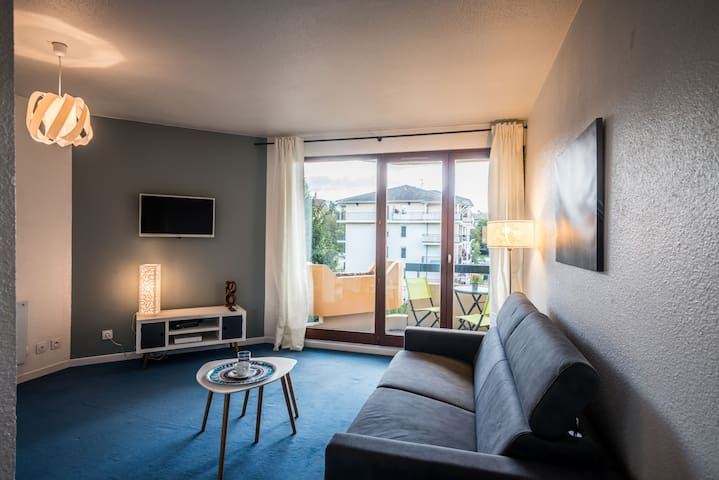 Cozy and comfortable studio close to Geneva - Saint-Julien-en-Genevois - Apartment