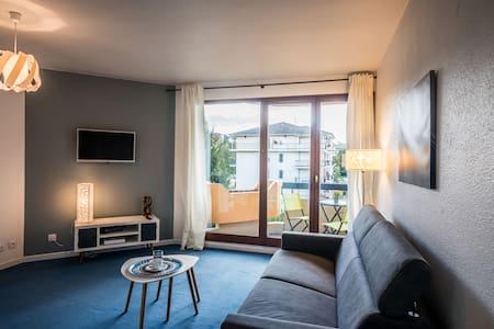 Cozy and comfortable studio close to Geneva - Saint-Julien-en-Genevois - Apartemen
