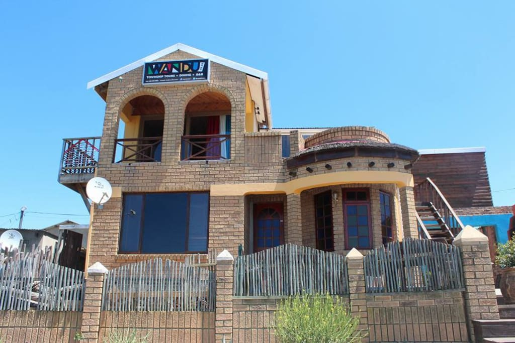 Wandu's has become a landmark in the township of Khayalethu